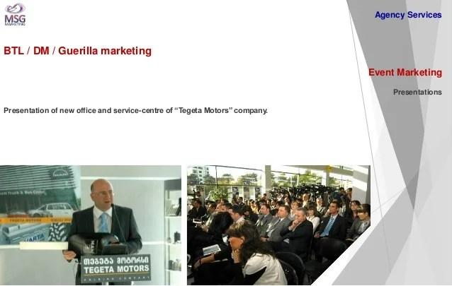 Digital Technologies And Online Marketing Agency MSG Marketing