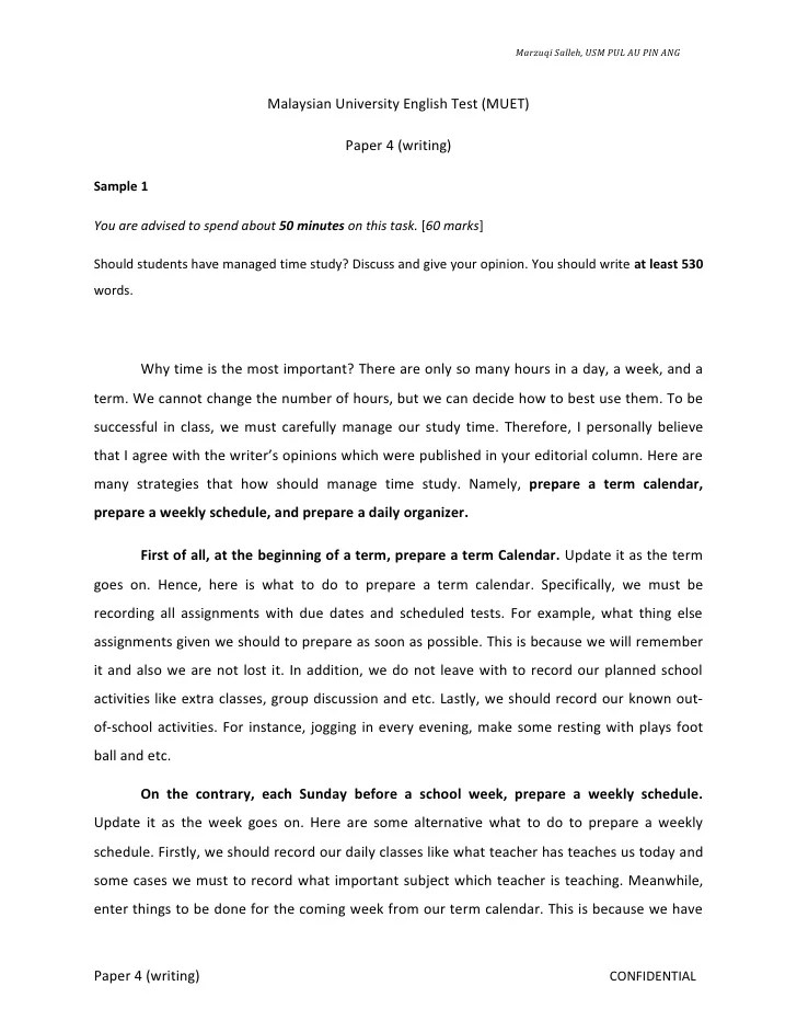 Standard Format Of Essay Writing How To Write Standard