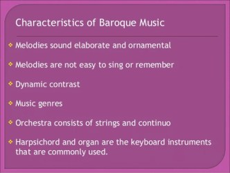 baroque medieval renaissance period examples example listening instruments form concerto commonly
