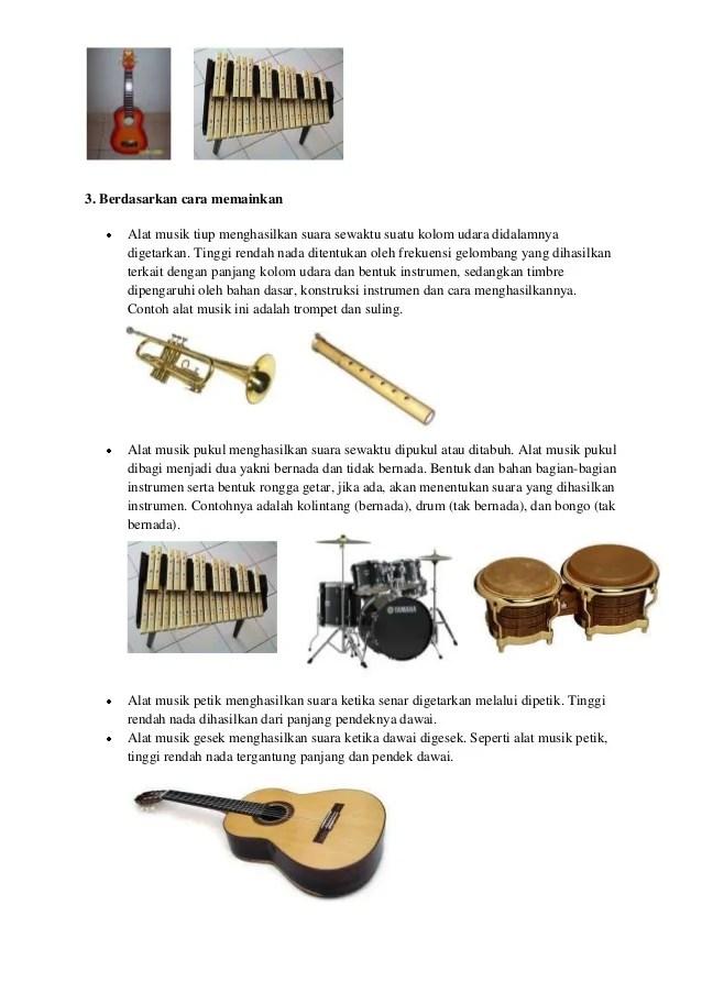Penggolongan Alat Musik : penggolongan, musik, Musik, Berdasarkan, Fungsi