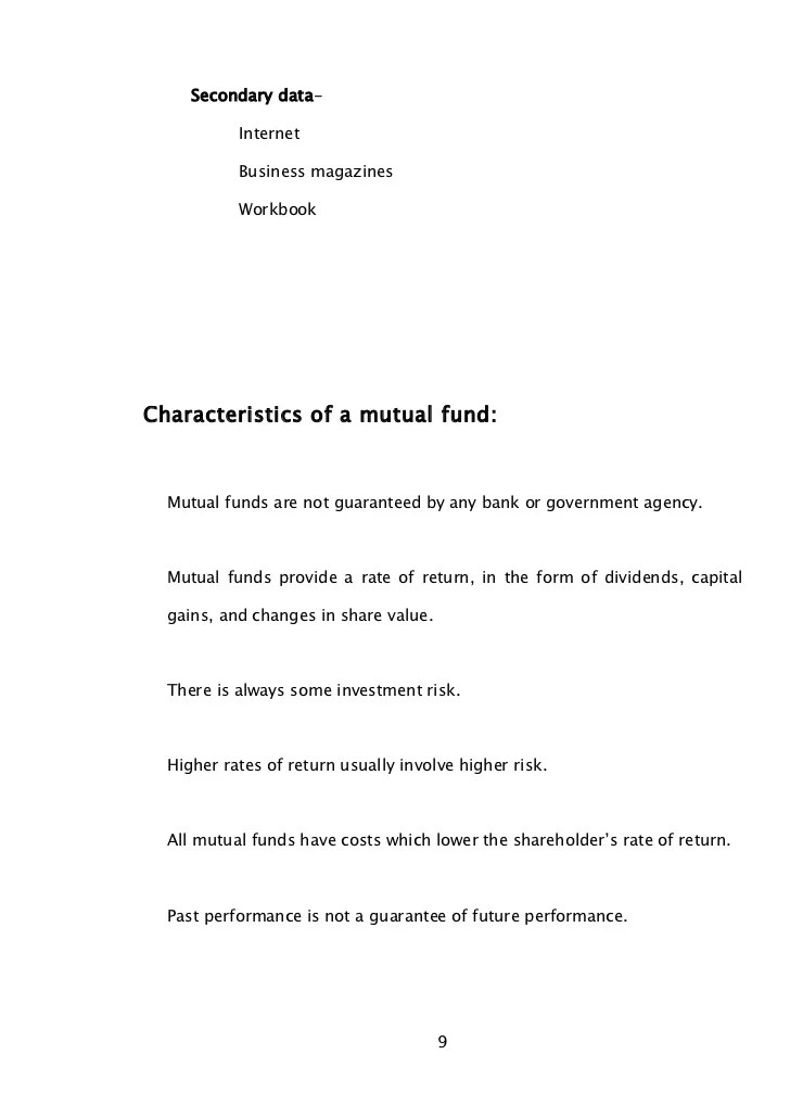 Mutual fund valuation and accounting notes  bec doms