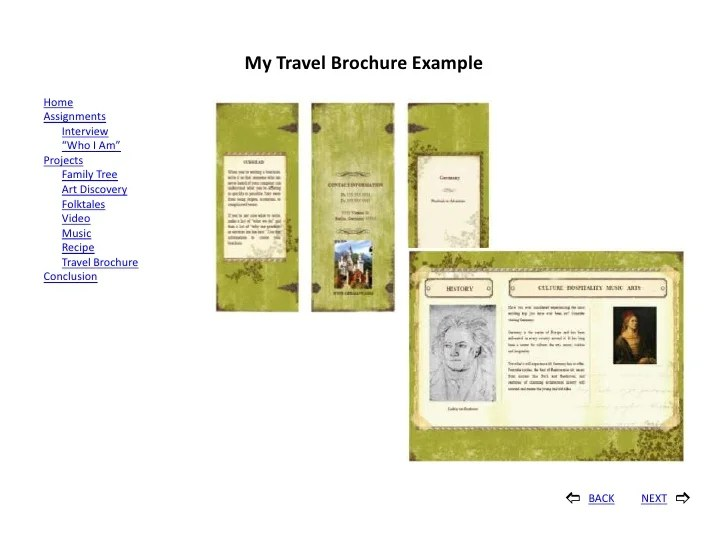 Travel Brochures Examples Project Ideal Vistalist Co