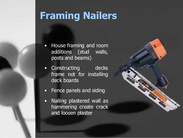 Nail Gun For Fence Panels