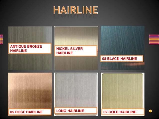 stainless steel design sheet catalog