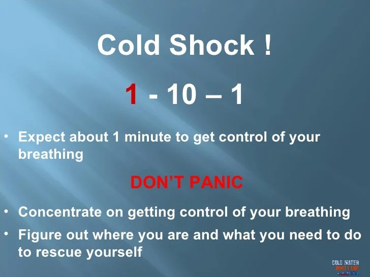 What Is Cold Water Shock