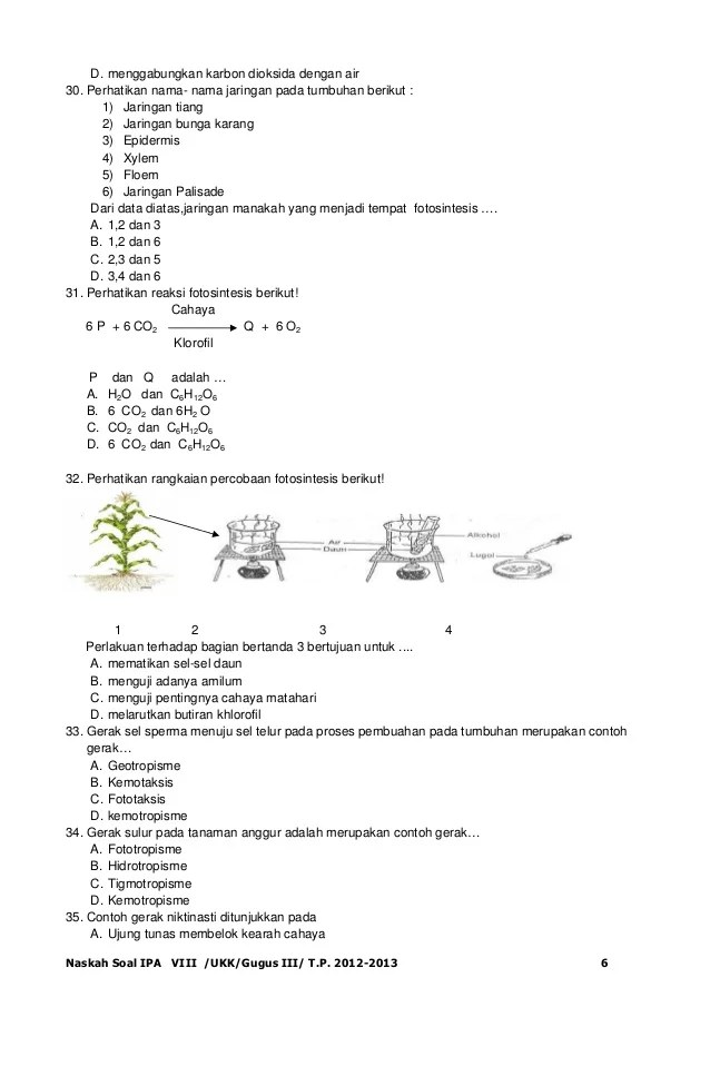 Contoh Soal Matematika Un Kls 6 2016 Contoh Soal Ujian Nasional 2016 Ipa Sd Download Bank