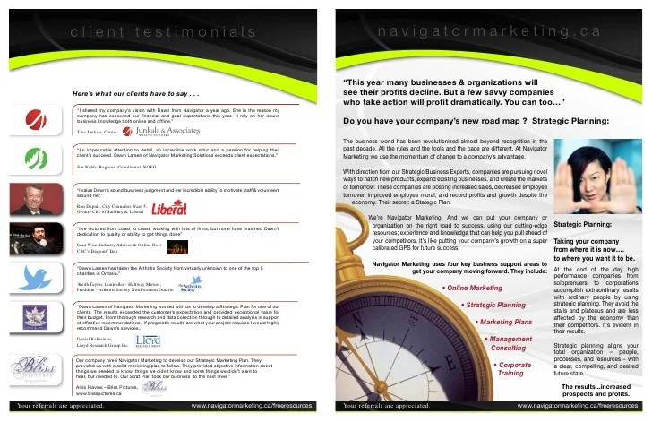 Navigator Brochure Corporate Training