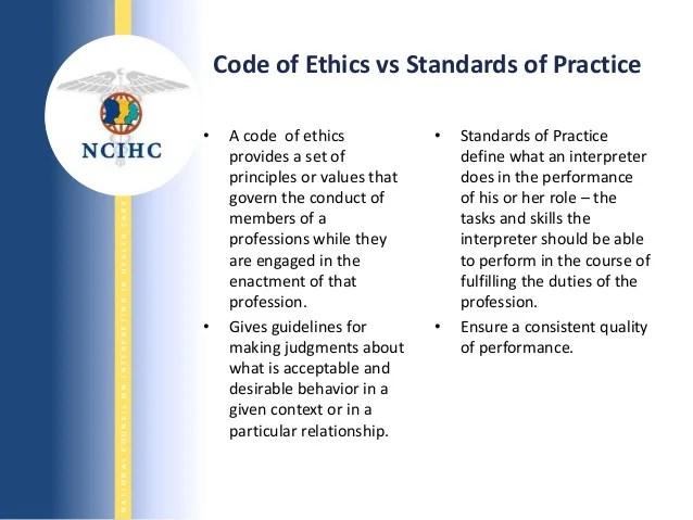NCIHC National Standards of Practice for Healthcare Interpreters