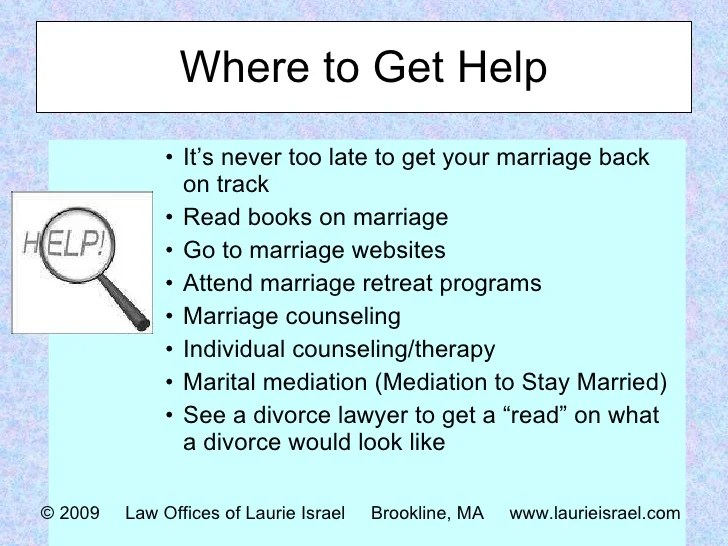 When Should You Go Marriage Counseling