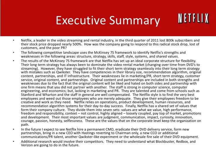 Netflix Competitive Analysis Research Paper Academic Service