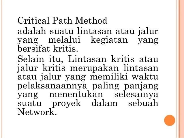 Net Work Planning Nwp