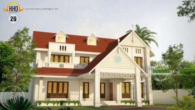 New Kerala House Plans April 2015
