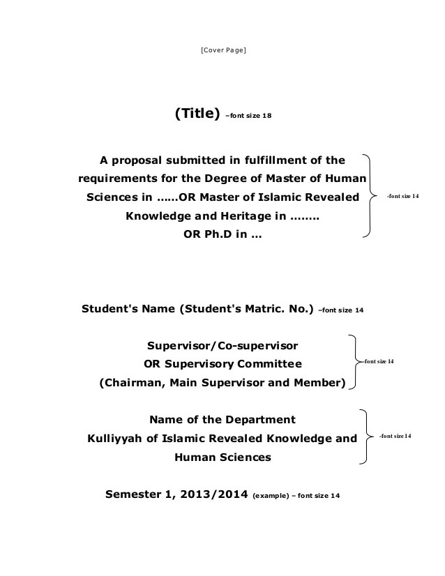 New2 Thesis Dissertation Proposal Template English 2