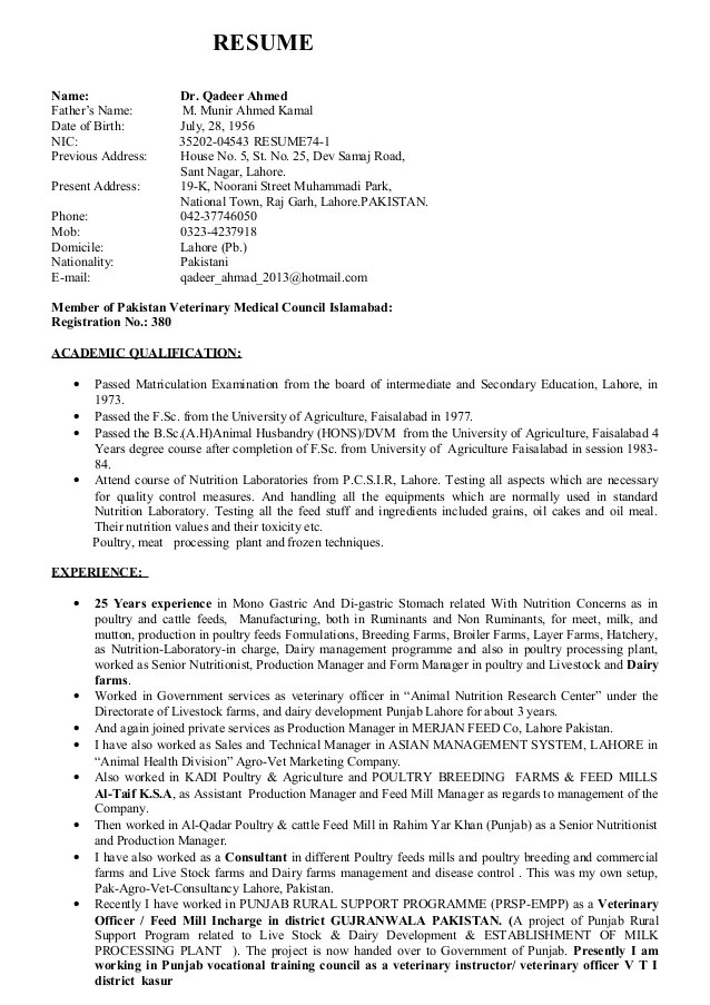 New Resume 3
