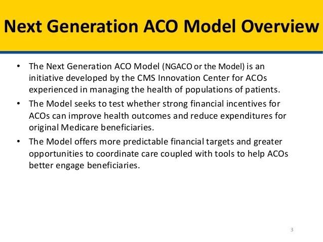 Open Door Forum Next Generation Aco Model Overview And Loi Informa