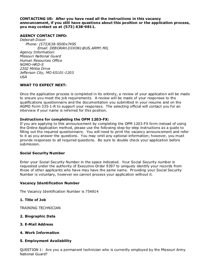 Arm Guard Vacancy