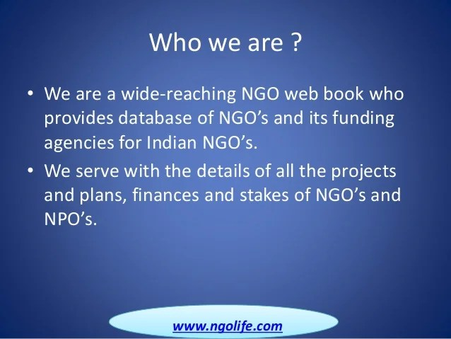 Online Directory of NGO in India