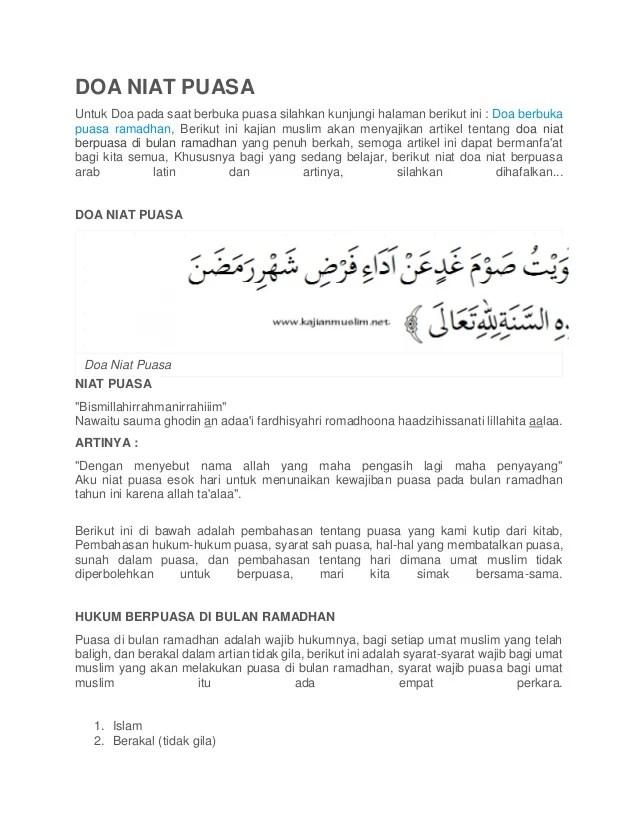 Niat Puasa Sunah Idul Adha : puasa, sunah, Puasa, Nusagates