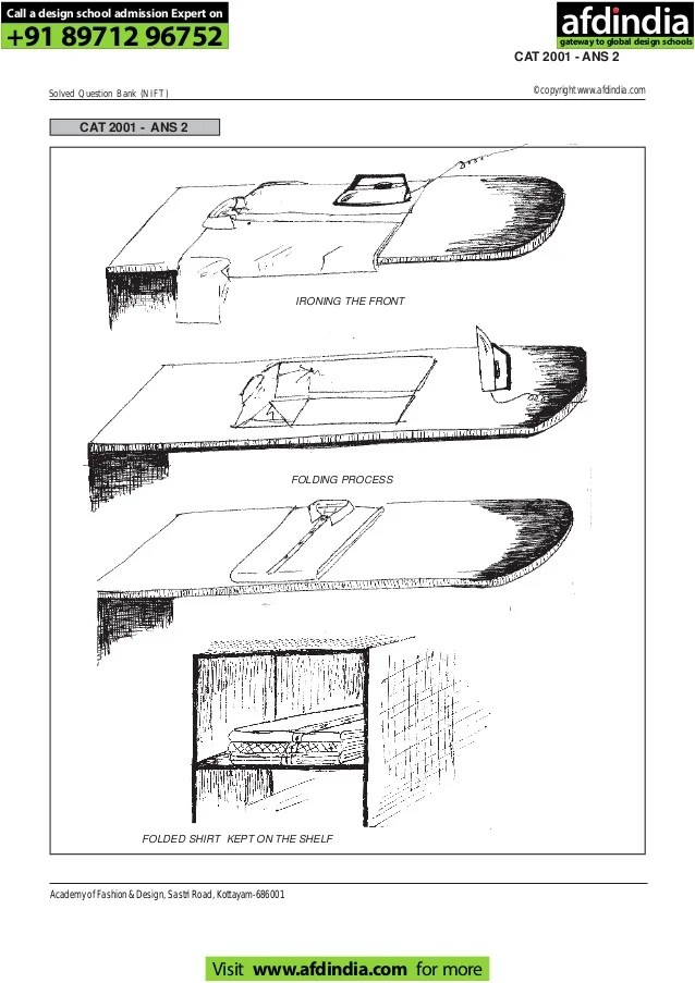 folding chair india canoe mec nift solved cat question paper