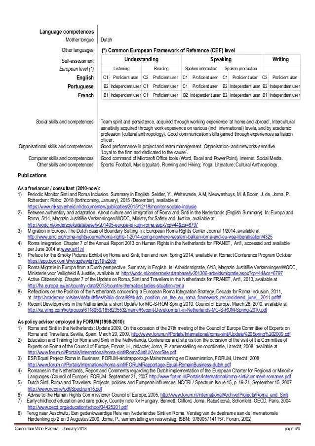 competences cv maths