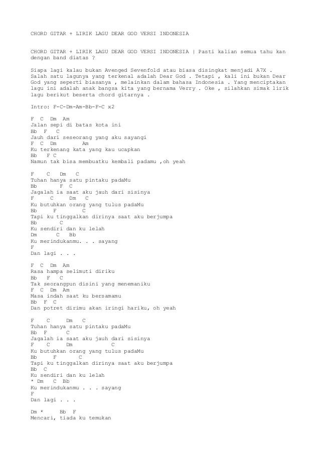 Lirik Di Batas Kota Ini : lirik, batas, VERSI, INDONESIA