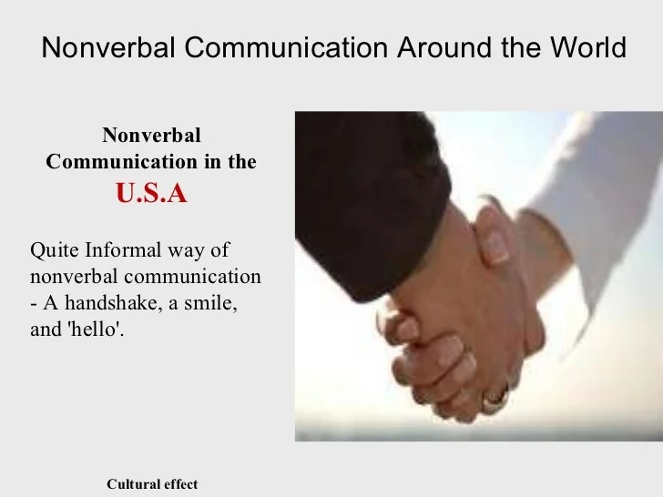 Essay Nonverbal Communication Two People