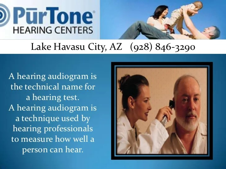 Hearing Audiogram Lake Havasu City AZ