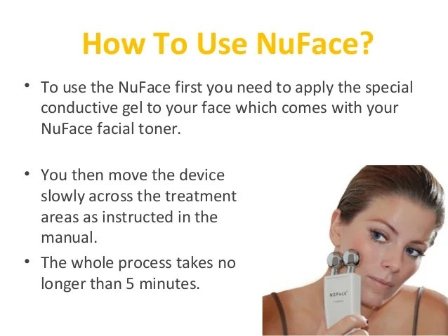 How does the Nuface Work