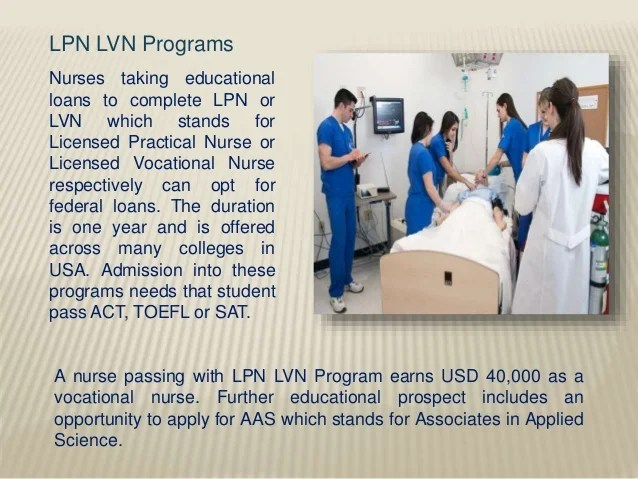 Nursing Student Loan Program