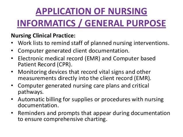 Nursing Informatics Cover Letter - Cover Letter Resume Ideas ...