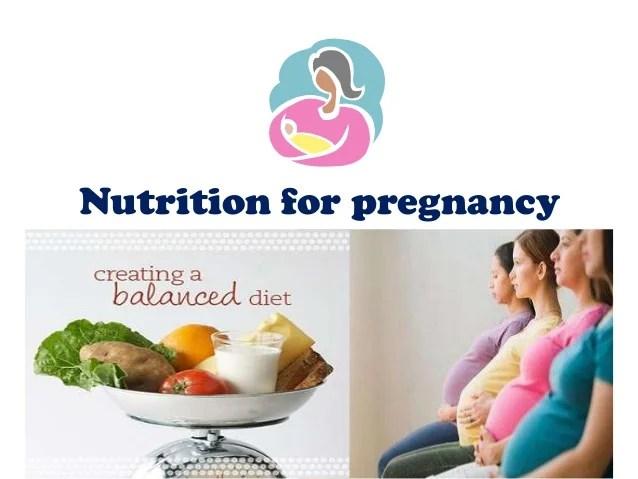 Nutrition Pregnancy