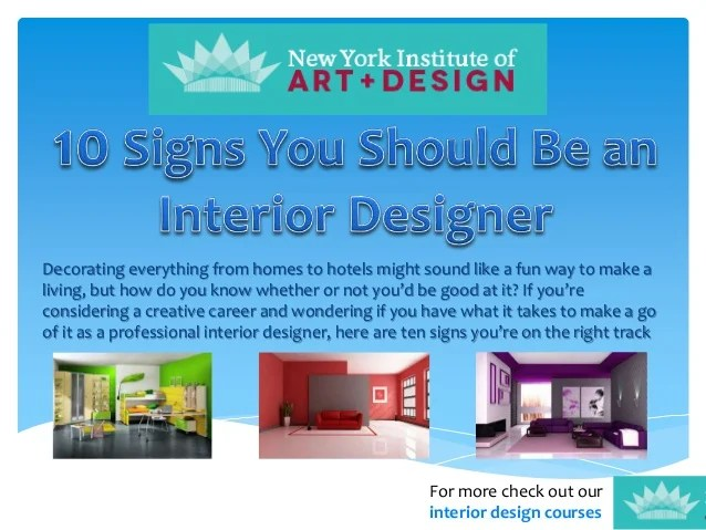 What Subjects Do You Need To Become An Interior Decorator