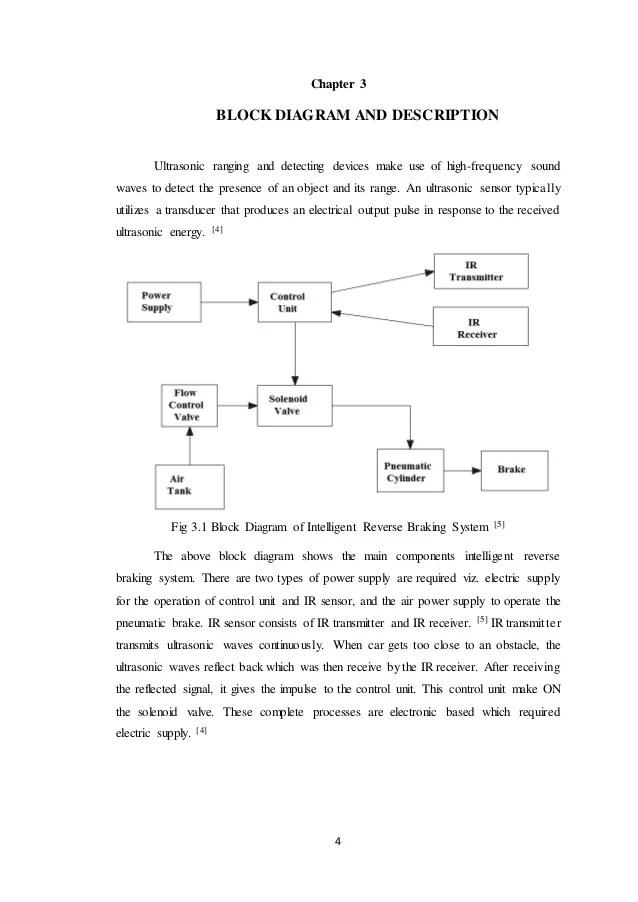 Intelligent Reverse Braking System