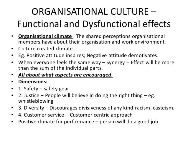Dysfunctional behaviour in organisations - reviewessays ...