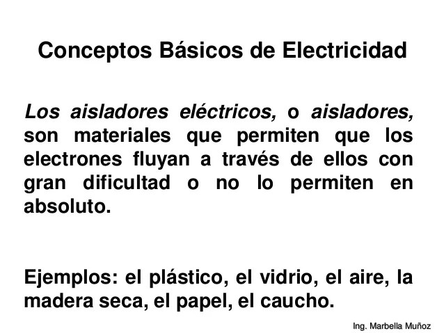 rlopez33 conceptos bsicos de electricidad