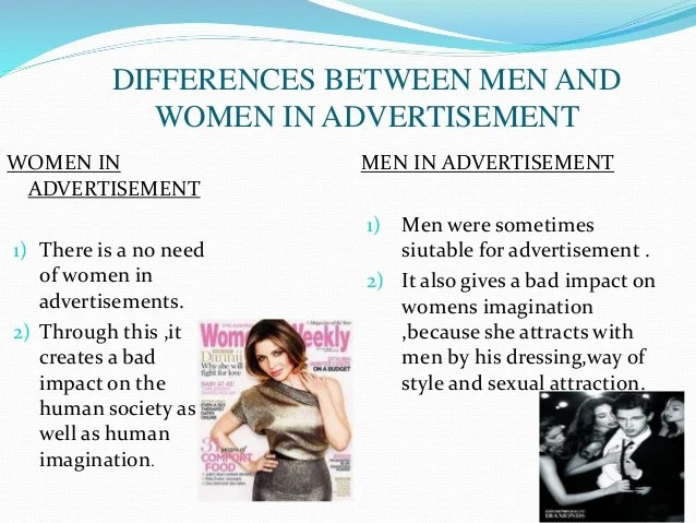 Objectification of women in advertisments