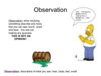 Observation Vs Inference Worksheet Worksheets For School ...