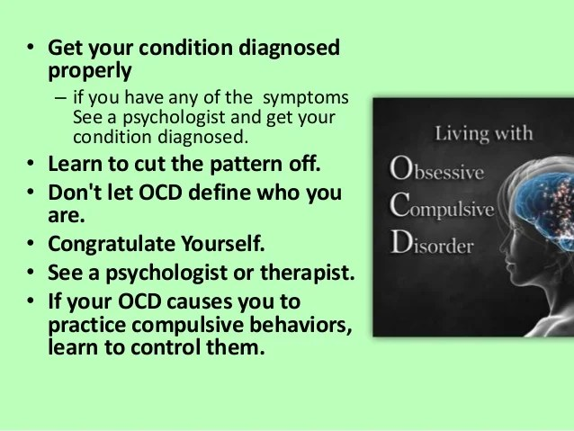 Ocd obsessive compulsive disorder counseling psychology