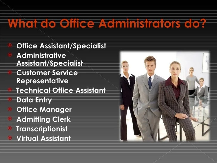 Office Administration Program