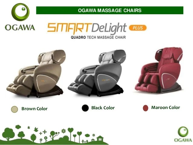 ogawa massage chair all weather garden table and chairs products its features brown color black maroon