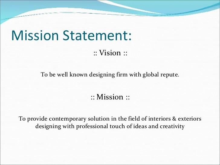 Interior Design Mission Statement Brokeasshome