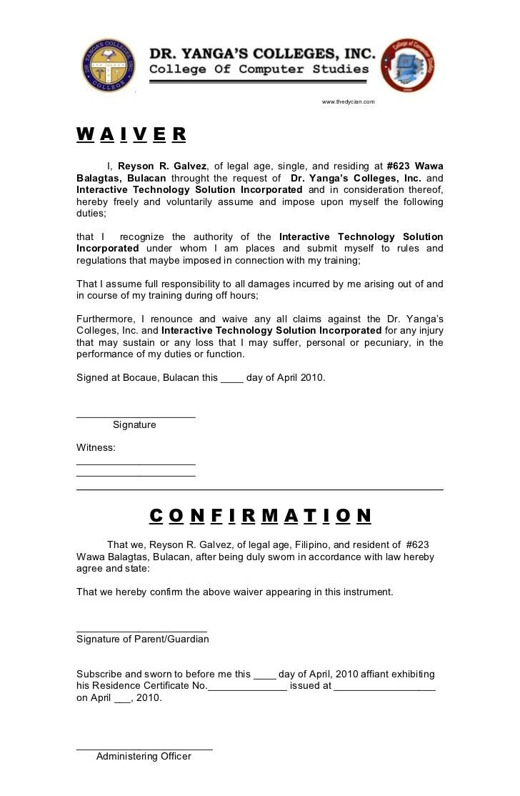 Ojt Application Letter .