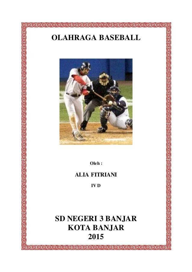 Makalah Tentang Baseball : makalah, tentang, baseball, Olahraga, Baseball