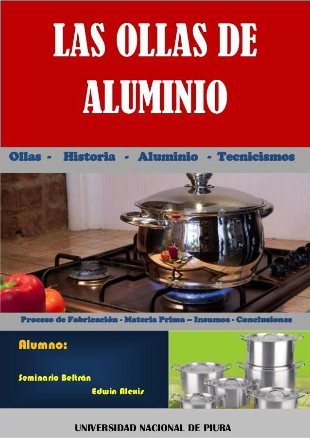 PROCESO DE FABRICACIN DE OLLAS DE ALUMINIO