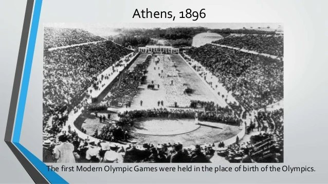 In What City Where The First Modern Olympic Games Held