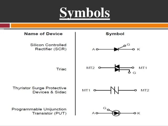 Triac Circuit Symbol