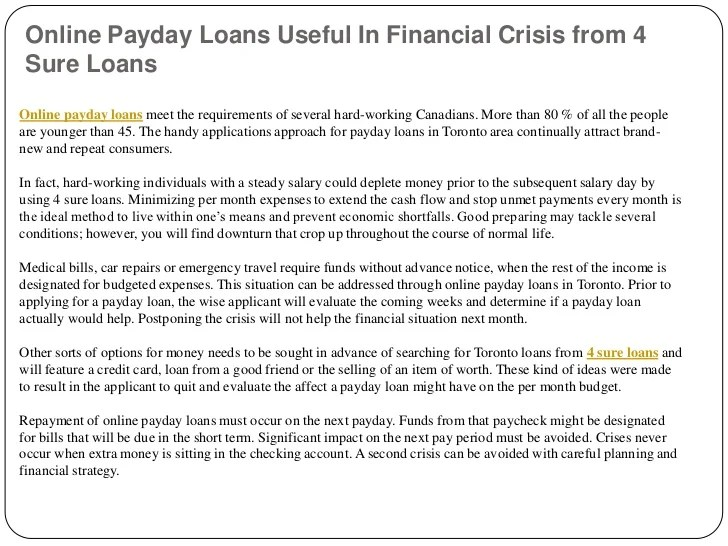 3 pay day lending products without delay