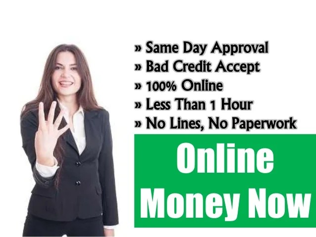 Payday Loans Online With Same Day Application Approval