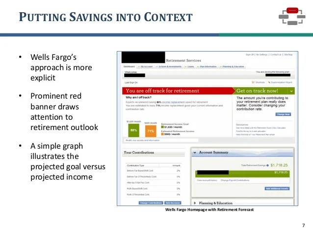 the online and mobile experience for retirement plan participants