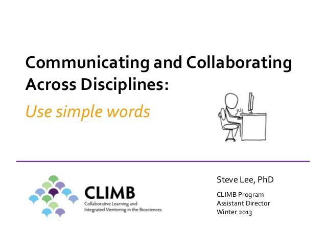 Oral presentation skills 3 communicating across